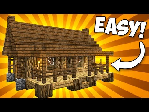 Cosy Compact House With Porch! - Minecraft Tutorial