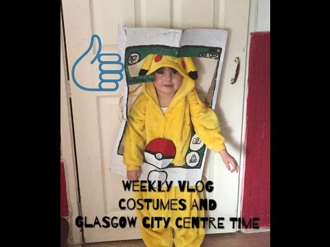 Weekly Vlog - Costumes and Glasgow City Centre Time
