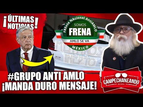¡ÚLTIMAS NOTICIAS! MISTERIOSO HOMBRE MANDA DURO MENSAJE A AMLO ¨SON UN NUEVO GRUPO¨