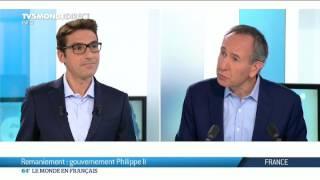 Remaniement du gouvernement en France