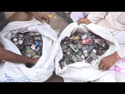 India faces huge challenge of recycling e-waste