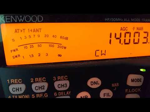 A5A - BHUTAN - 14 MHz CW