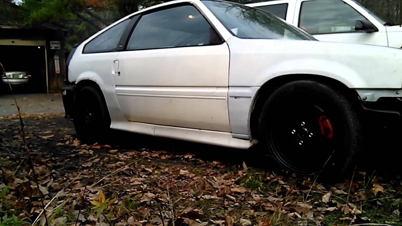 medium resolution of 84 crx with 87 integra d16a1 conversion
