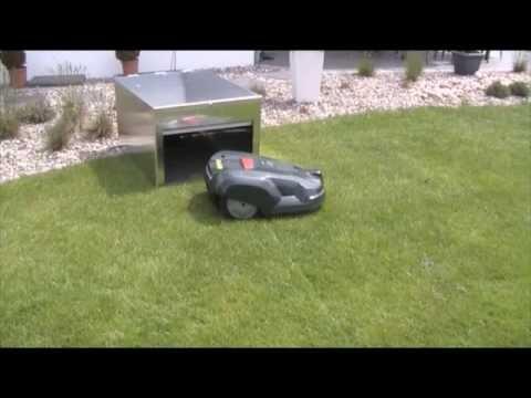 Gardena R40LI_Klappe / Garage automower