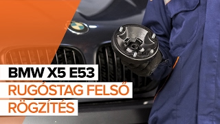 BMW X5 (E53) Csapágy Tengelytest szerelési: ingyenes videó