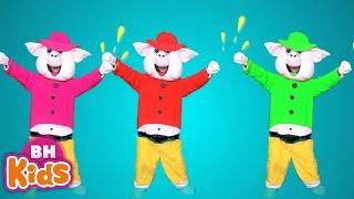 3 Chú Heo Con Nhảy Xúc Xắc Xúc Xẻ ♫ Ca Nhạc Thiếu Nhi Vui Nhộn