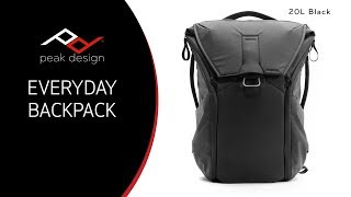 peak Design Everyday Backpack 20L Unboxing and Brief Overview