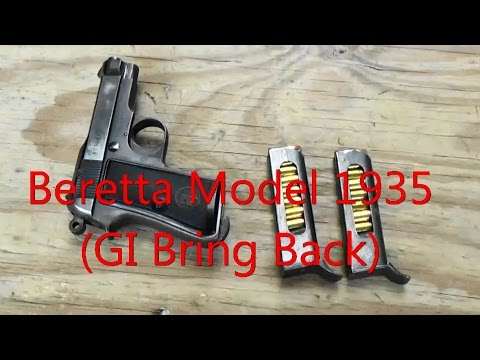 Beretta Model 1935 (GI Bring- Back)