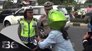 86 - Penindakan Lalu Lintas di Jalan Ahmad Yani Bekasi - Brigadir Eka