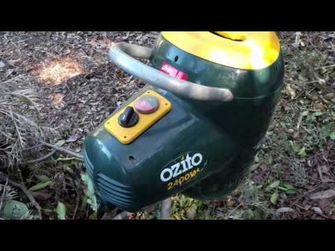 Ozito 2400w Mulcher Garden Shredder Review