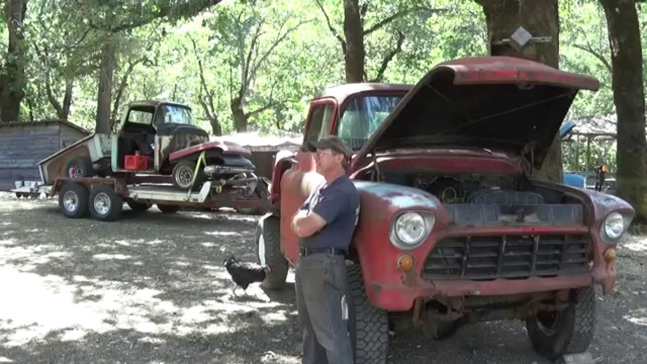 Operation Crusty Truck 1957 Chevy Napco 4x4 To Be Or Not Youtube
