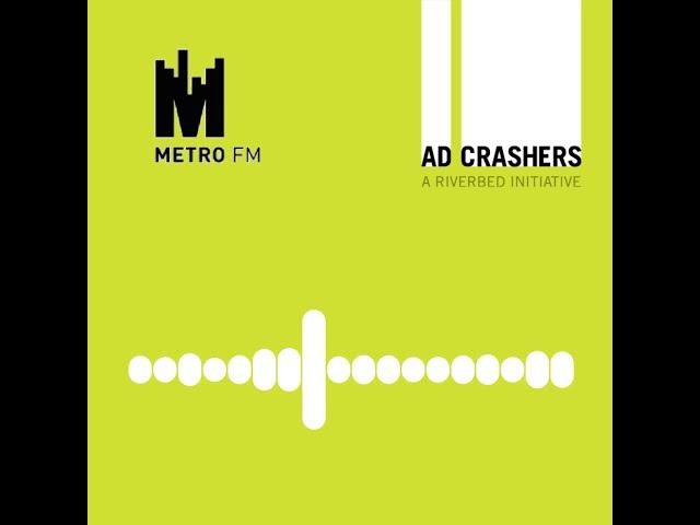 Listen: Ad Crashers interview on Metro FM