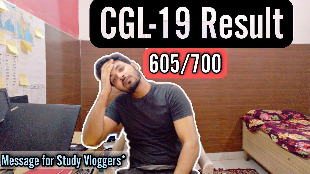 Download CGL 2019 Result UR-605/700   This Broke Us Apart🥺