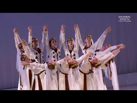 Красивый армянский танец