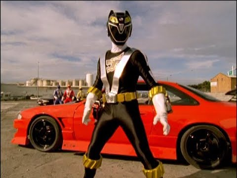 Power Rangers RPM  Rain  Black Ranger's First Morph and Fight Episode 3