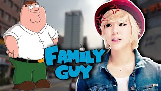 Koreans react to Family Guy K-pop episode