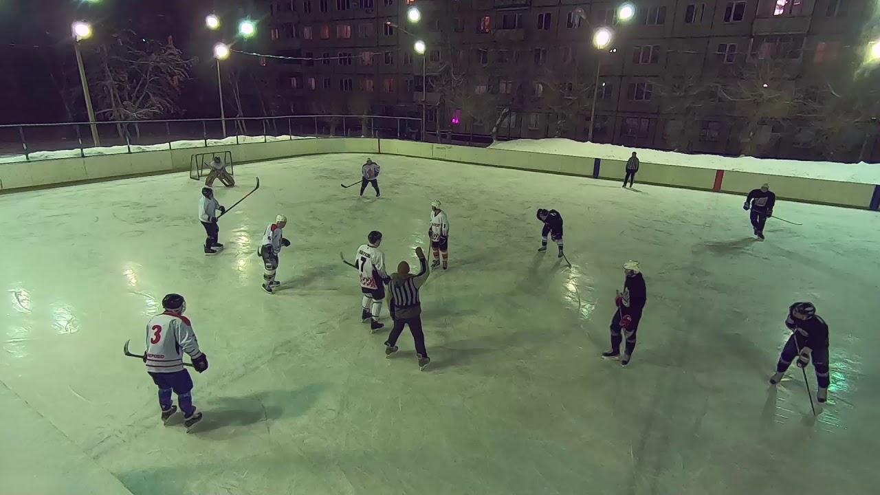Игра в хоккей Факел - Кемсити 12.02.2020
