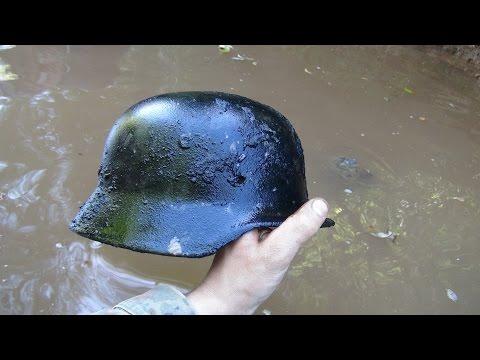Находки с глубины реки! Раскопки на Железной реке с металлоискателем  // Юрий Гагарин