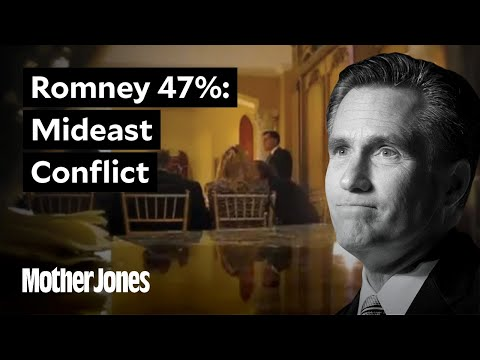 Mitt Romney on the Mideast Conflict