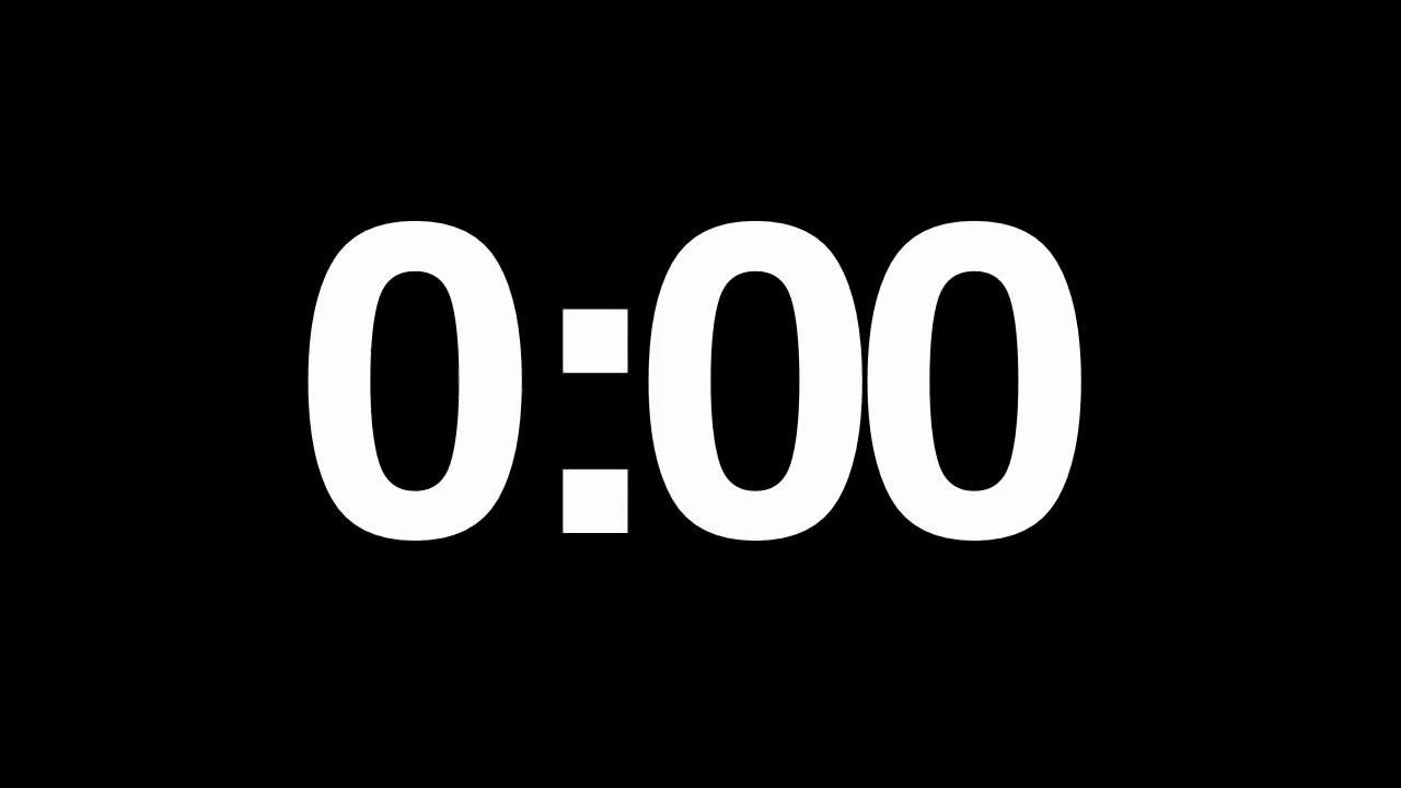 1 minute audio