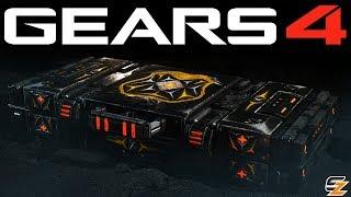 Gears of War 4 Gear Packs - OPENING STALKER KANTUS GEAR PACKS!