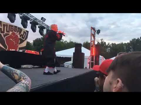 Ouija performing live juggalo March