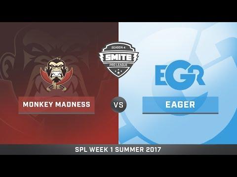 SPL Summer Split NA Team Eager vs Monkey Madness Game 1