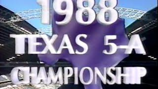 1988 Judson vs Dallas Carter pt 5