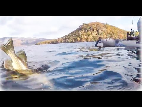 Across The Big Loch . A Kayak Fishing Adventure On Loch Lomond