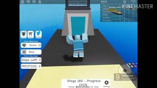 Roblox - Mega Fun Obby 180 Stages (175 - 180 Etappen)