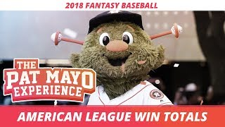 2018 MLB Predictions - American League Win Totals, Team Previews, Awards and Playoff Picks