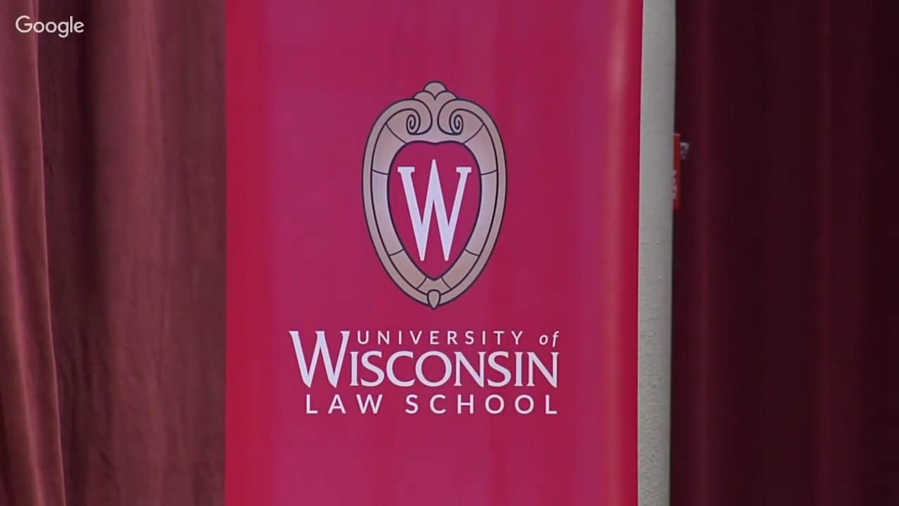 University of Wisconsin Law School 2019 Hooding Ceremony