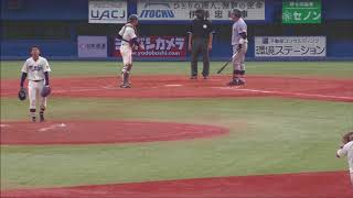 2017年10月8日に神宮球場で行われた東京六大学野球秋季リーグ戦・第5週...
