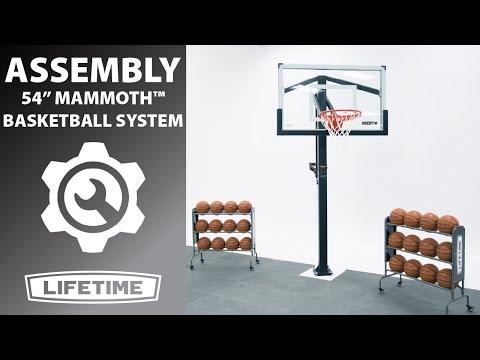Lifetime Mammoth Basketball System 54