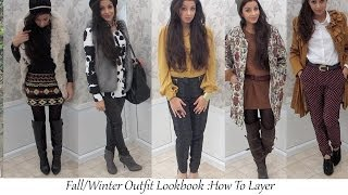 Fall/Winter 2013: Lookbook How To Layer Thumbnail
