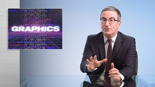 Lost Graphics Vol. 4 (Web Exclusive): Last Week Tonight with John Oliver (HBO)