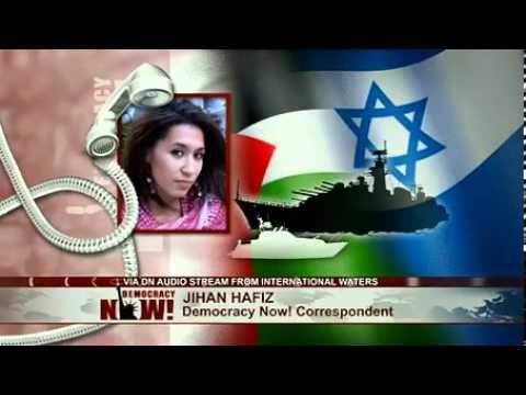 EXCLUSIVE: Video Report From Gaza-Bound Flotilla Attempting To Break Israeli Blockade
