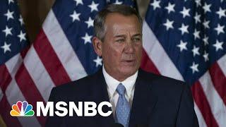 Trump Responsible For 'Bloody Insurrection,' Says John Boehner   Morning Joe   MSNBC