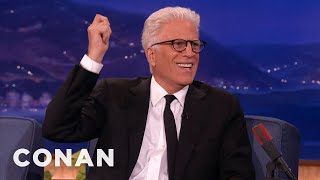 Woody Harrelson Got Pantsed By Ted Danson