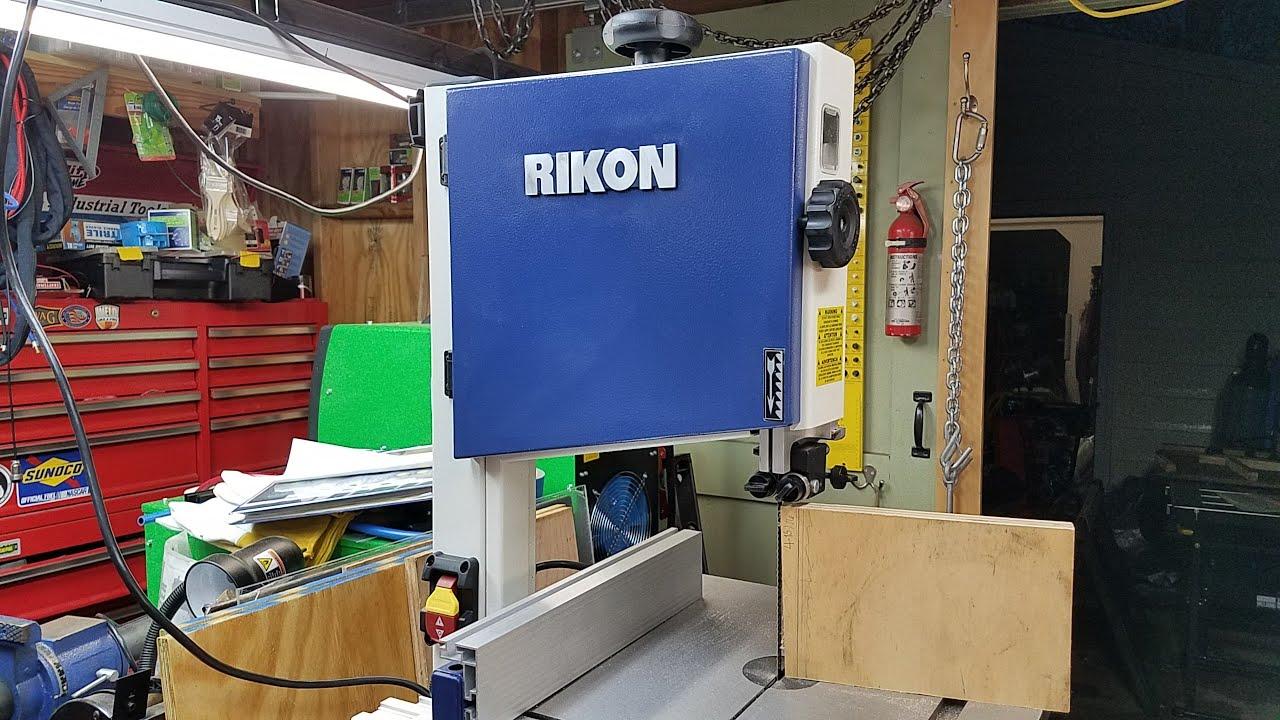 Rikon 10-306 delux band saw quick look