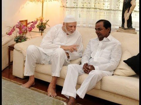 CM KCR visits Shah Alam Khan's Residence At Barkatpura Hyd | @ SACH NEWS |