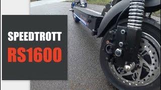 SpeedTrott RS1600, ce n'est pas une trottinette, c'est un missile !