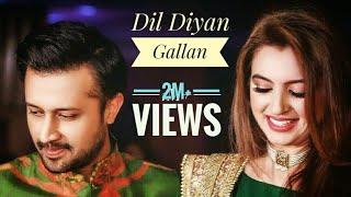 Gambar cover 💕 dil diyan gallan 💞💞 Atif Aslam and Sara bharwana