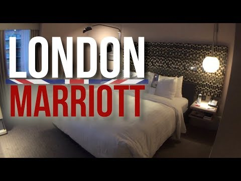 London Marriott Hotel Maida Vale Room Tour
