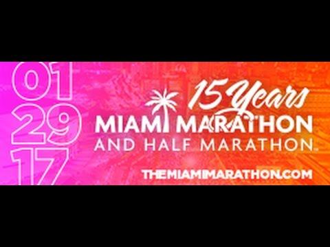 2017 Miami Marathon & Half Marathon Broadcast