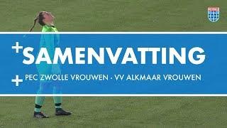 Samenvatting PEC Zwolle Vrouwen - VV Alkmaar Vrouwen