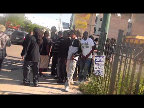 Hell Rell Walks Through Englewood (Chicago)