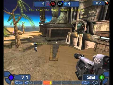 Unreal tournament 2003 gameplay capture the flag facing for Unreal tournament 2003