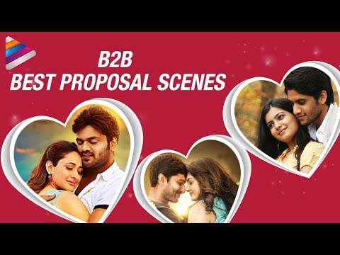 Best Love Proposal Scenes in Tollywood |...