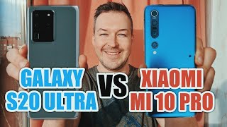 ЧТО КРУЧЕ: GALAXY S20 ULTRA vs XIAOMI MI 10 PRO?